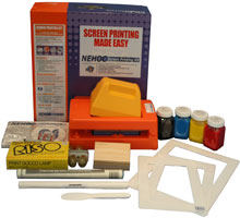 S-868  NEHOC Screen Printing Kit