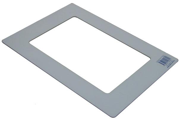 large plastic frame