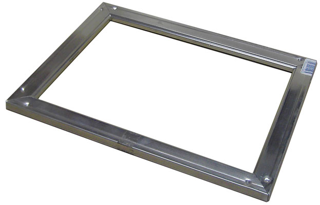 large metal frame